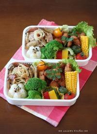 (*ノωノ)ハズカチィ=3 ✿ bento&晩ご飯♪ - **  mana's Kitchen **