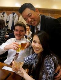 東京公演打ち上げは東麻布「たこ八」さんで - べルリンでさーて何を食おうかな?