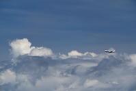 台風10号が接近中 - 南の島の飛行機日記