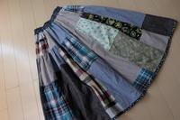 ツギハギスカート NO2 - 夢子さんのミシン