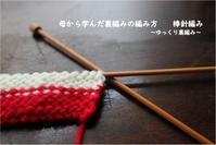 アクリルたわしの作り方 ~裏編み編~ - 身の丈暮らし  ~ 築60年の中古住宅とともに ~
