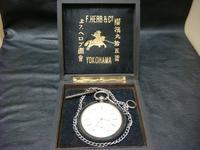 アンティーク商館懐中時計銀側 - アンティーク(骨董) テンナイン