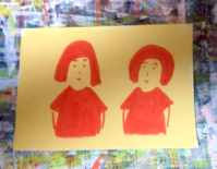 兄弟姉妹 - たなかきょおこ-旅する絵描きの絵日記/Kyoko Tanaka Illustrated Diary