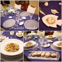 7月のCooking Classが終了しました♪ - Romy's Mondo ~イタリア料理教室「Piccolo Mondo」主宰者Romyの世界~