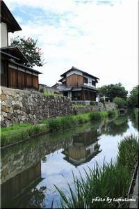 滋賀県・近江八幡~水路のある風景。Ⅰ - 今日のいちまい