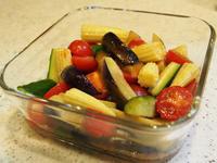 夏野菜のポン酢揚げびたし - 奏'Laboratory