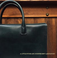 LEATER BUSINESS BAG - A LITTLE STORE And INDEPENDENT LABOFATORY