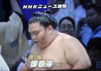 大相撲名古屋場所関脇・御嶽海が初優勝! - テニスのおじさま日記