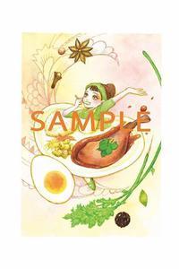 【お店×ポストカード企画】第2弾カリワラ編始まります。 - LoopDays     Sachiko's Illustration blog