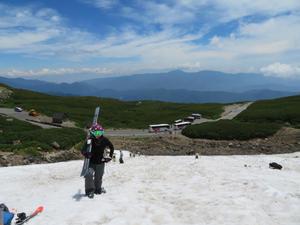 滑走40日目☆乗鞍大雪渓めちゃくちゃ楽しかった - Carmenの粉雪スキャット