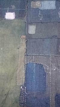 襤褸でスカート製作中 - 紅い風
