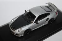 1/64 Kyosho PORSCHE Orginal (Hobby Route) 911 GT2 RS - 1/87 SCHUCO & 1/64 KYOSHO ミニカーコレクション byまさーる