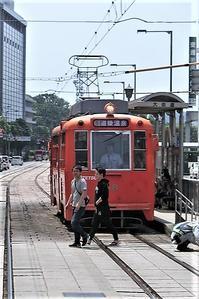 藤田八束の鉄道写真@路面電車も良いものです。街の雰囲気を最高にさせる路面電車 - 藤田八束の日記