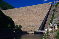 奈良俣のダム - 風の香に誘われて 風景のふぉと缶