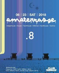 2018.06.23.SAT|- AMATERRASSE - vol.08 @clubBIBROS - CENDRILLON+