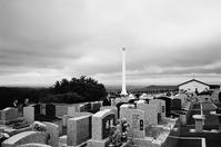 石狩平野を望むテラス墓地と多摩洋風墓園 - 照片画廊