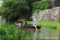滋賀県・近江八幡~水路のある風景。Ⅱ - 今日のいちまい