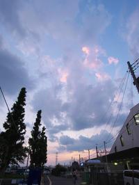 夏の夕空 - 節操のない写真館