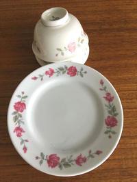 台湾の懐かしかわいい花柄食器と、アルミの器  - おみやげMYラブ ~ブログ版~