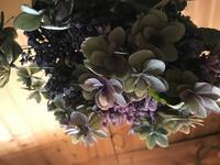 紫陽花のドライにトライ!「少し早め!秋色紫陽花にチャレンジしています。」編 - 納屋Cafe 岡山