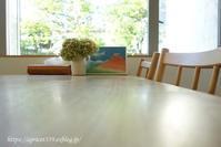 暑い夏でもスッキリと アナベルのドライフラワーを飾る - シンプルで心地いい暮らし