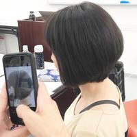 オシャレ染めで白髪染め - hair salon puppe 犬山市 美容院