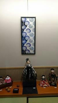 武蔵屋さんでの展示の様子♪ - 市松人形師~只今修業中