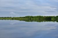 水鏡~今週のウトナイ湖 - やぁやぁ。