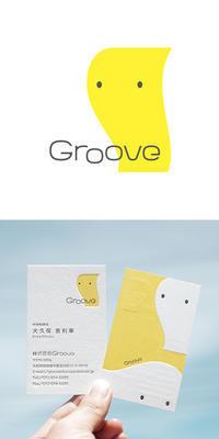 株式会社Groove様企業ロゴ - CI,VI|ロゴデザイン|ブランディング|cosydesign.com
