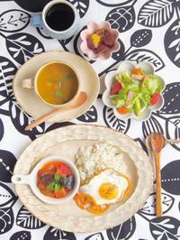 ラタトゥイユの朝ごはん - 陶器通販・益子焼 雑貨手作り陶器のサイトショップ 木のねのブログ