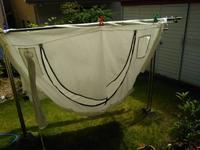 シックシェルターのテントを洗った - 化学物質過敏症・風のたより2