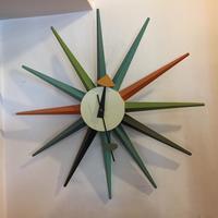 ジョージ・ネルソンデザインサンバーストクロック - BEATNIK OSAKA BLOG