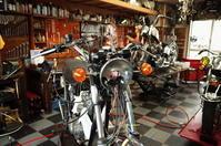 日曜日・月曜日の授業風景 - Vintage motorcycle study