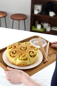 【日本一適当なパン教室~特別夏季講習~】追加情報! - ちぎりパン 日本一簡単なパン教室 Backe