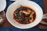 タイ料理を食べにこられる生徒さんがこれは作りたいとおっしゃったお料理/8月のレッスン - 日本でタイメシ ときどき ***