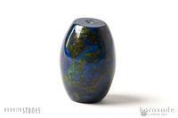 アズロマラカイト天珠型ビーズ - すぐる石放題