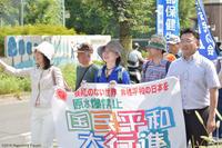 清瀬の平和行進に初めて参加 - こんにちは 原のり子です