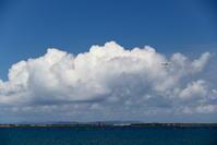 慶良間が見えた - 南の島の飛行機日記
