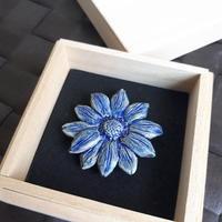 瑠璃色の姫ヒマワリ - アーティスティックな陶器デザイナーになろう