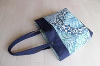 『夏色』のトートバッグ - シマリスママの布あそび