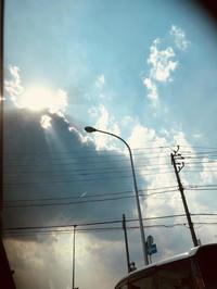 """《空と雲》天使のパンチと、大きな不思議なかたちの吊るし雲と。 - スピリチュアルカウンセリング &  ヒーリング 《""""こころ""""が輝くまで》"""