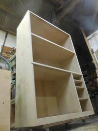 食器棚(カップボード)の組み立て - 手作り家具工房の記録