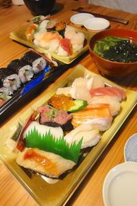 お惣菜寿司 - 週末は晴れても、雨でも