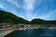 夏の漁港 - デジタルで見ていた風景