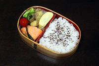 焼き鮭 - 庶民のショボい弁当