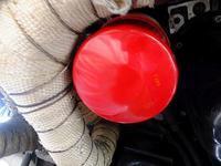 BHレガシィオイルクーラーからのオイル漏れチェック - 青いそらの下で・・・