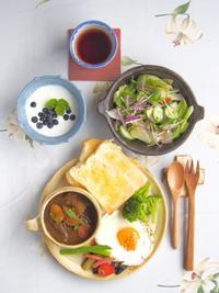カレー朝ごはん - 陶器通販・益子焼 雑貨手作り陶器のサイトショップ 木のねのブログ