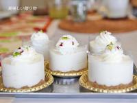 レアチーズケーキ - 美味しい贈り物