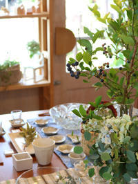 ブルーベリーをテーブルに 〜7月下旬の店内のようす〜 - CROSSE 便り