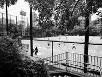 夏のグラウンド - 節操のない写真館